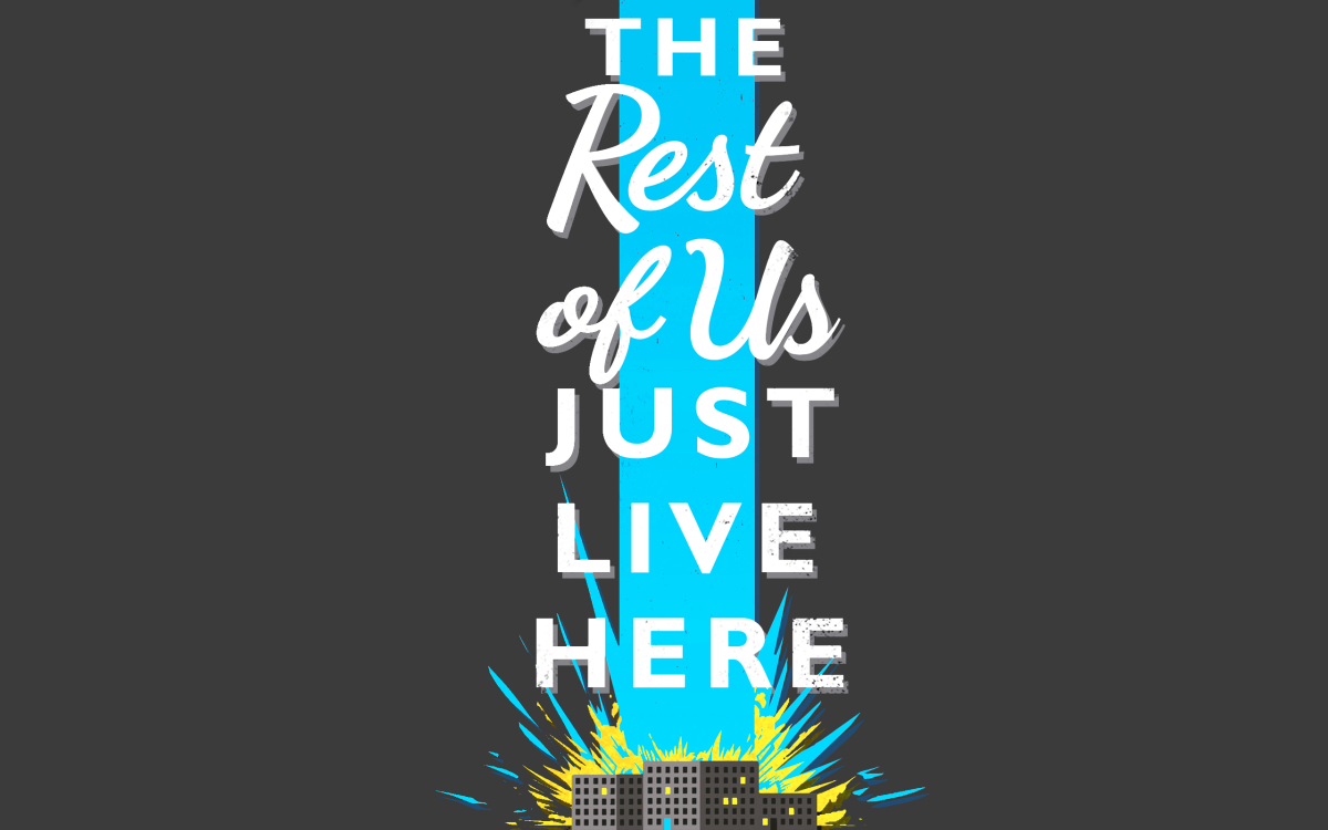 The Rest of Us Just Live Here by Patrick Ness | Book Review